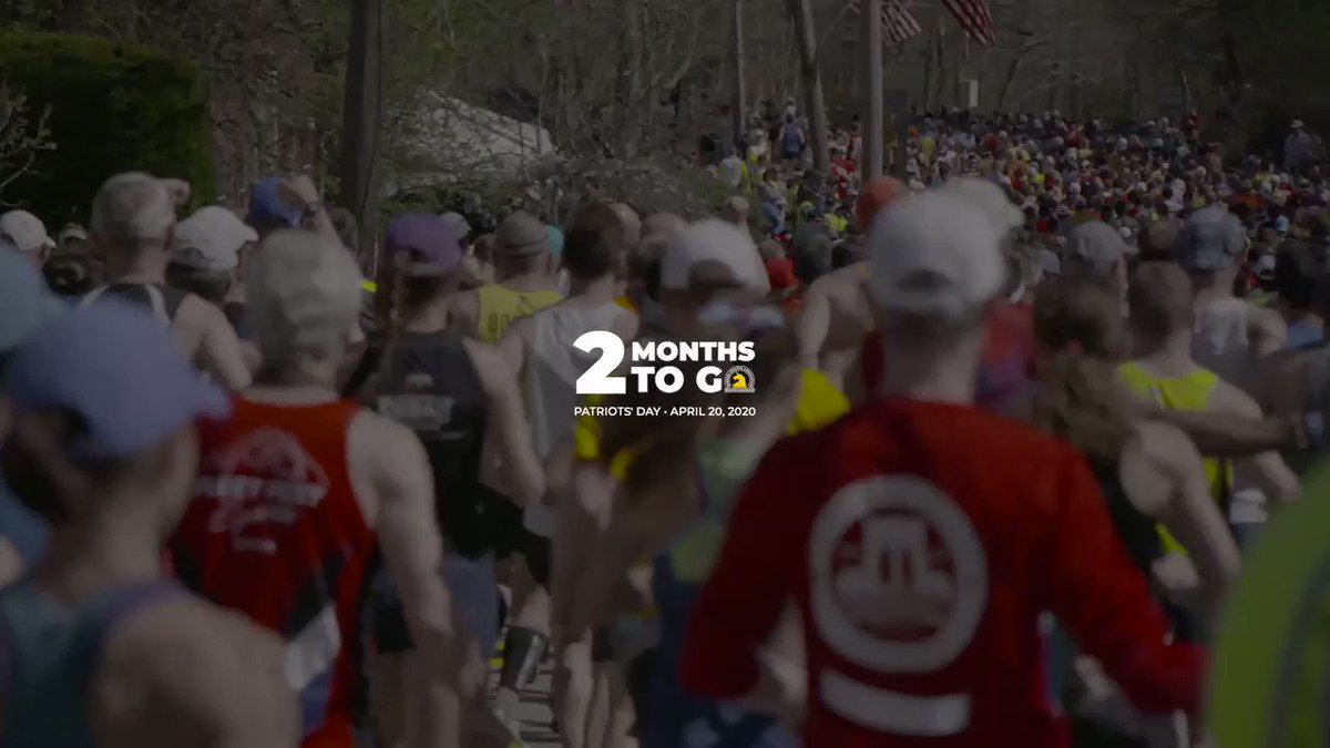 Two months until the 124th running of the Boston Marathon!