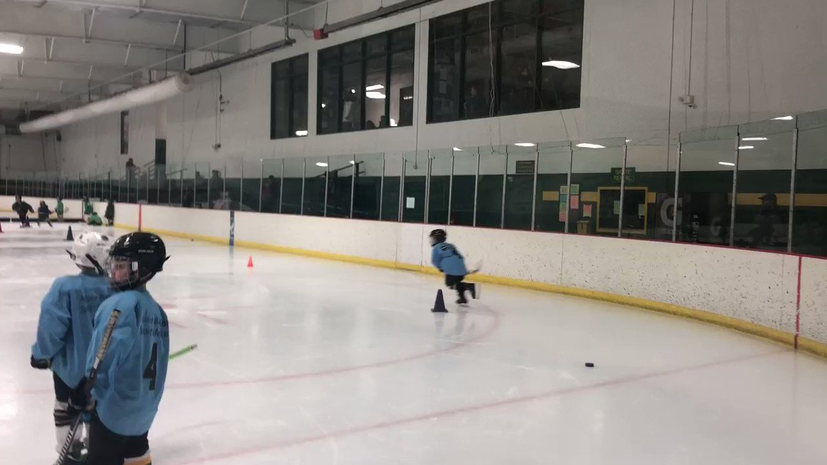 Yesterday, H told me that my birthday gift was going to be at his hockey practice. He was going to win the drill for me. He did....every single time. Thanks bud!  #Niceshot pic.twitter.com/OI0zMYHvyh