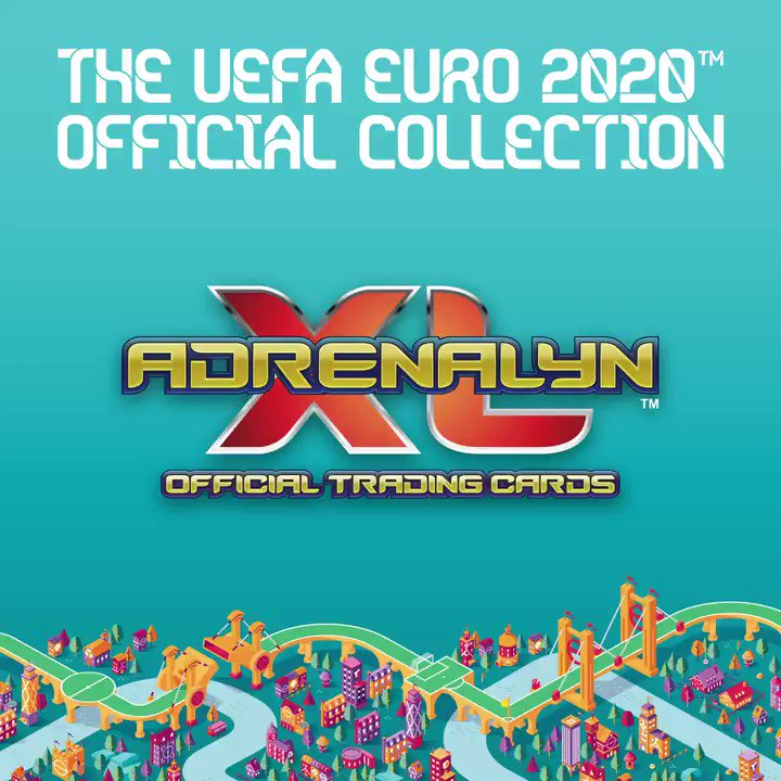 Hey brand new @OfficialPanini 👀 The @EURO2020 Adrenalyn XL official trading cards are out NOW! Get involved🙌 #EURO2020   #GotGotNeed