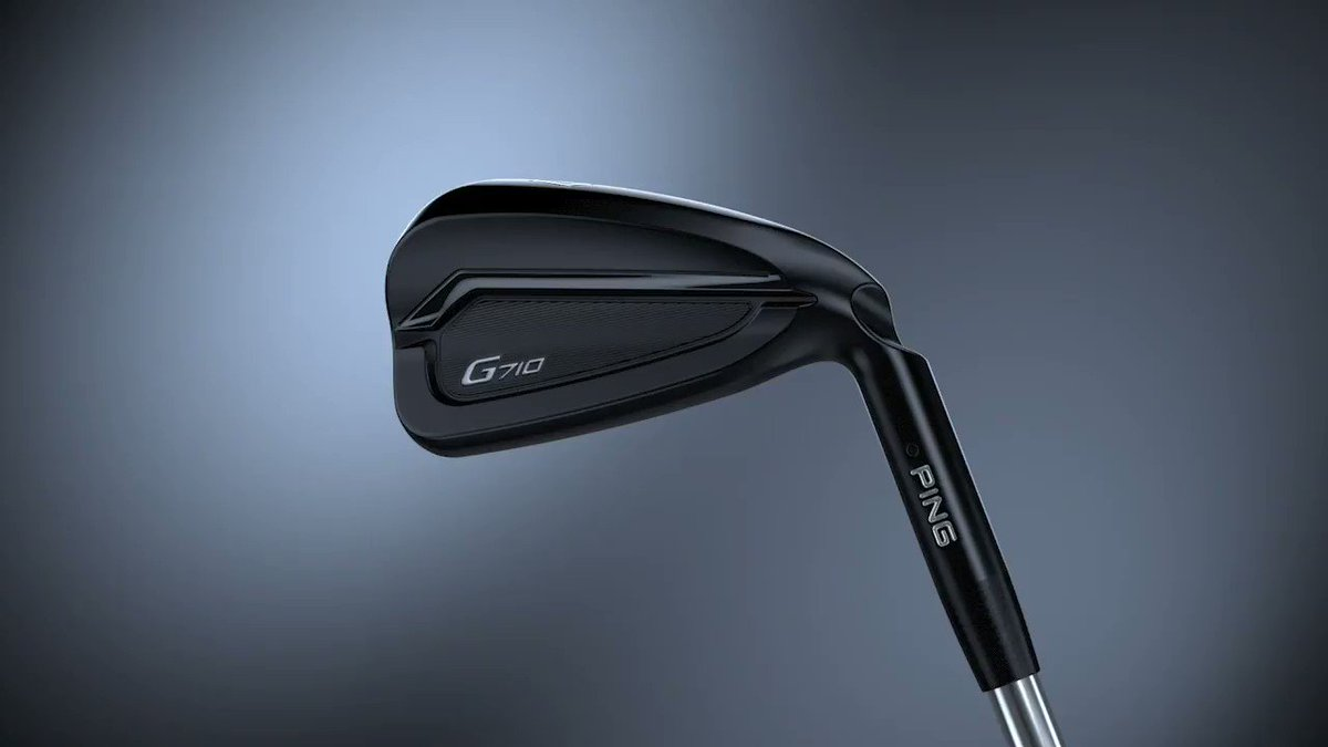 Distance and forgiveness in a sleek, dark finish. Go inside the innovation of the #G710 iron.