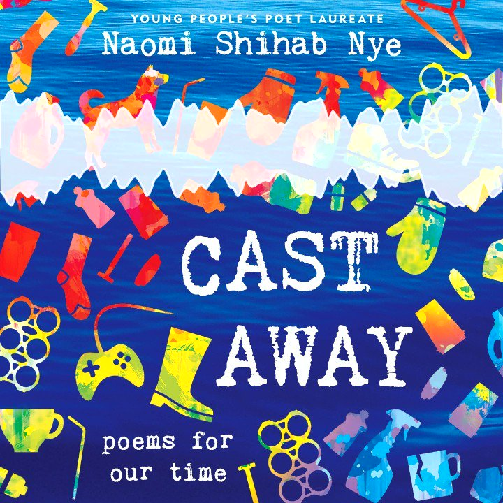 Catch a sneak peek of the audiobook for CAST AWAY by Naomi Shihab Nye @YPPLaureate, a moving poetry collection that shines a spotlight on the things we cast away, from plastic water bottles to those less fortunate. @HarperAudio fal.cn/castaway