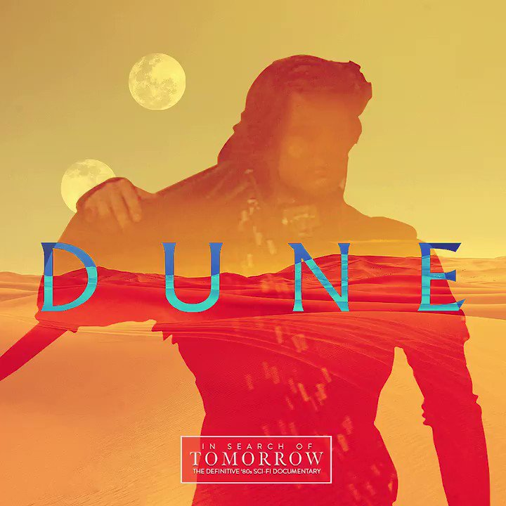 #DUNE will be featured in #InSearchOfTomorrow. What is your favorite thing about this sprawling, #DavidLynch-directed Sci-Fi epic? Follow @80sscifidoc for more... #80s #SciFi #moviespic.twitter.com/9fjfAZQhuI