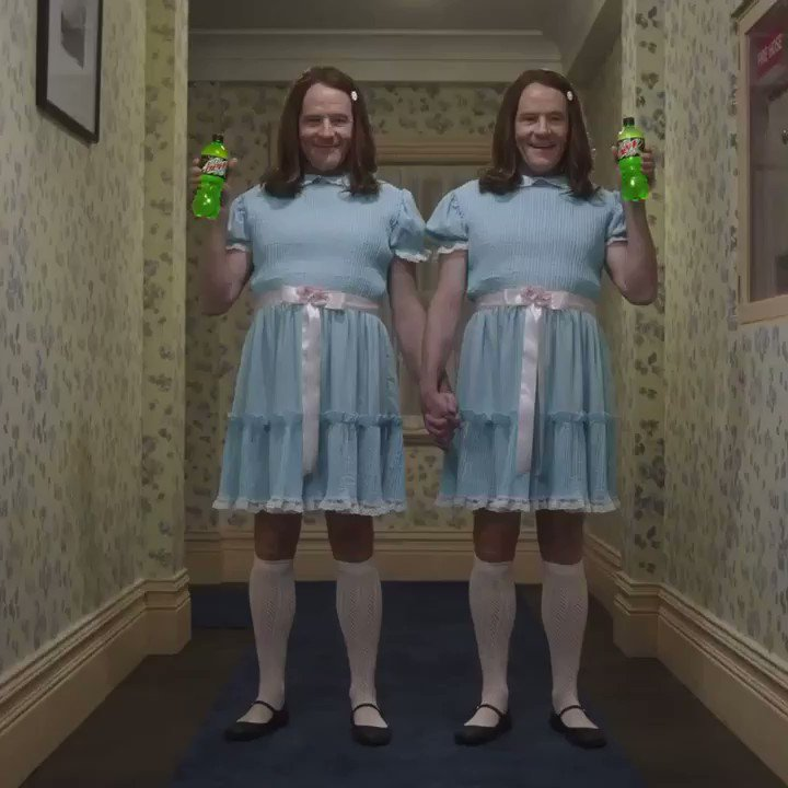 Caution: watching this clip has been known to cause nightmares... it did for me #MTNDEWZeroSugar