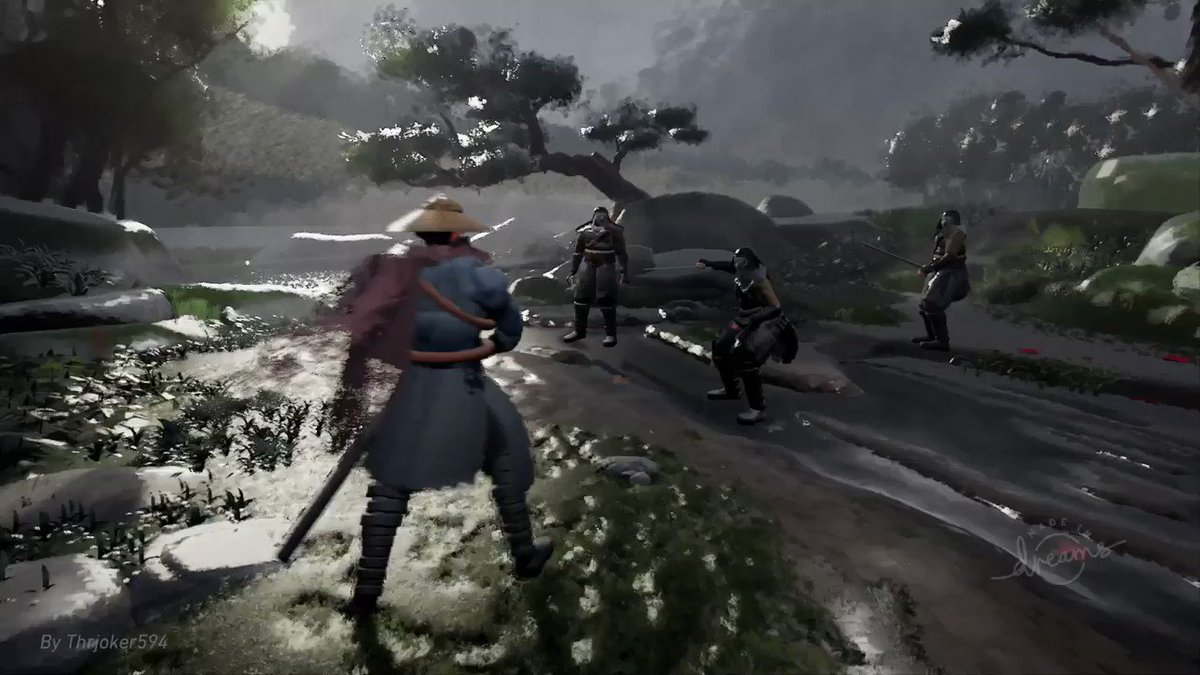 This Ghost Of Tsushima Remake In Dreams Looks Unbelievable - GameSpot