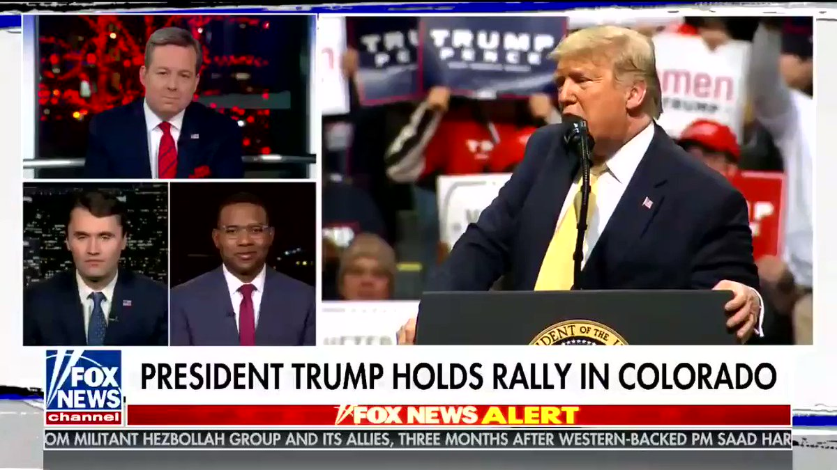 Fox cuts away from the rally and Richard Fowler defends Cavuto