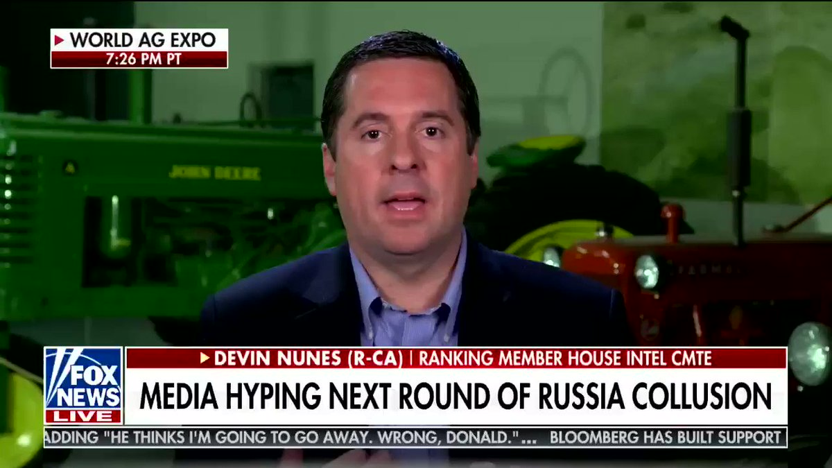 Devin Nunes asks if the Russians only like Republicans, why did they let the Republicans lose the House of Representatives