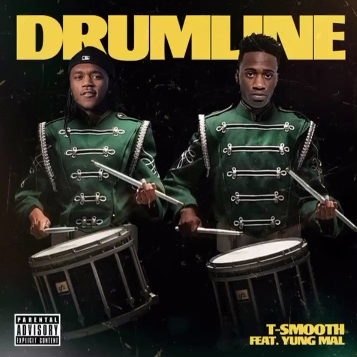 """Drumline"" Out Now Ft @yungmal__15 On All Platforms 🥁🐐💪🏾"