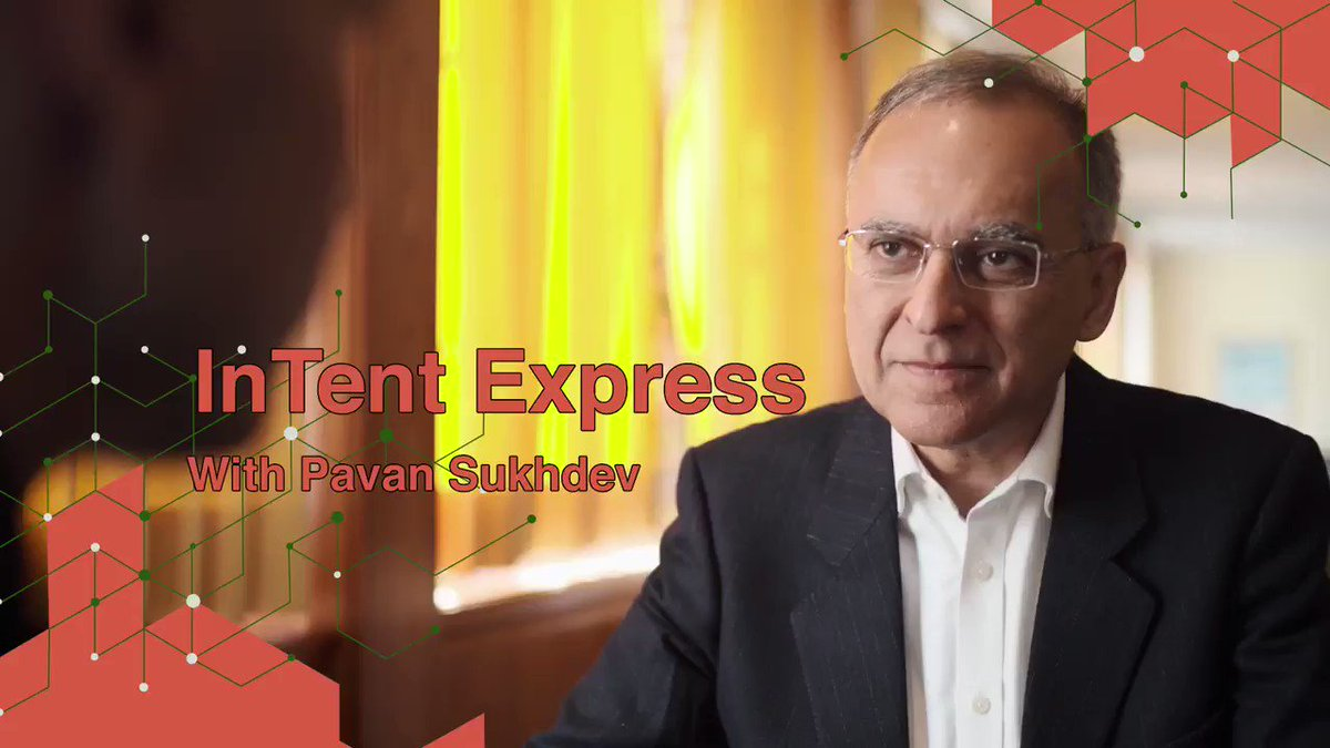 Image for the Tweet beginning: InTent Express interview with @PavanSukhdev