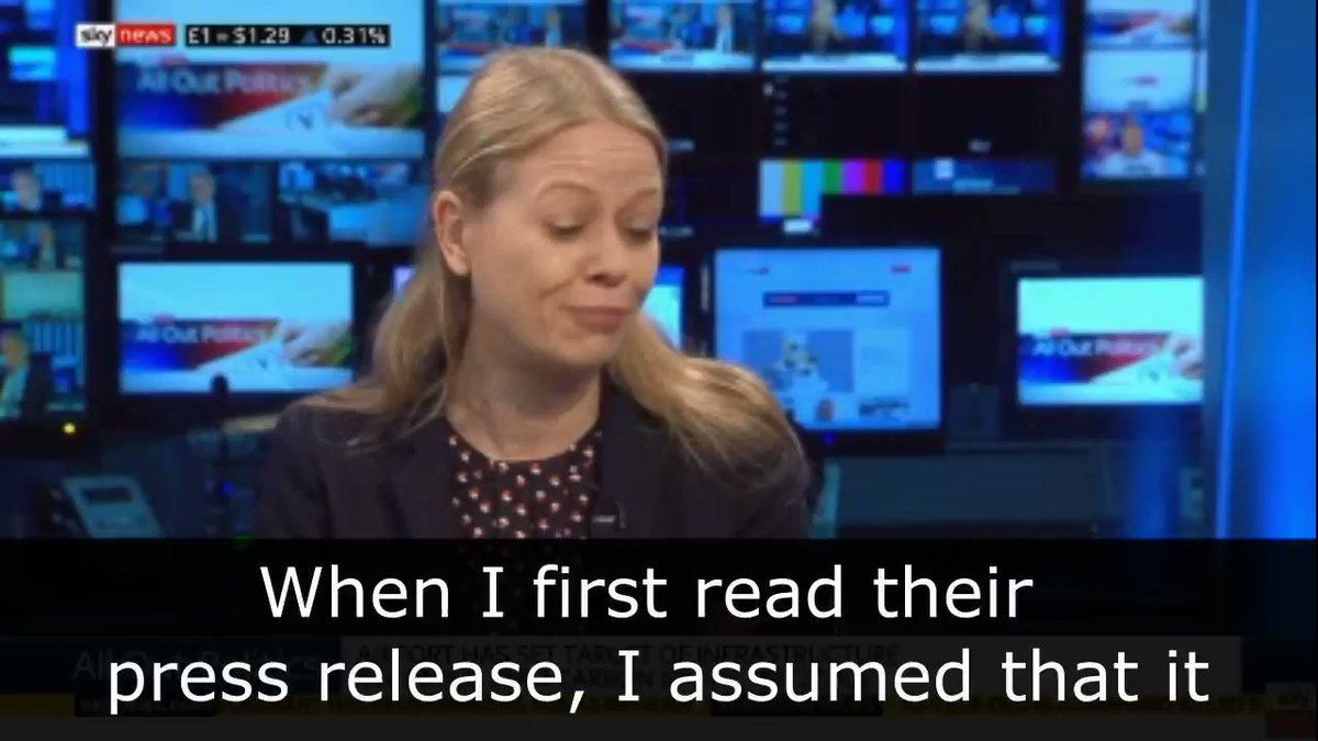 .@sianberry responds to Heathrows misleading claim that theyre to become a zero carbon airport ✈️