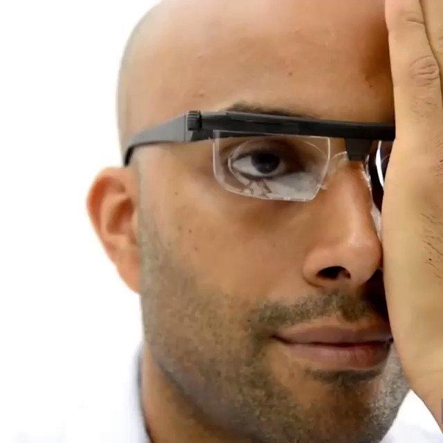 Image for the Tweet beginning: Adjust your eye sight toward