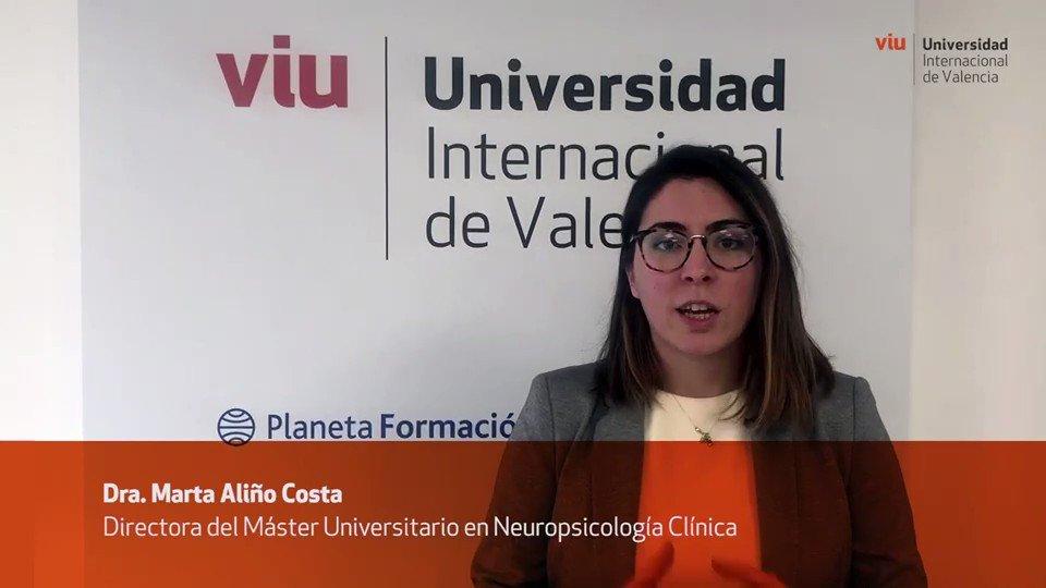 ¿Qué es la #Neuropsicología Clínica? ¿Por qué son necesarios profesionales formados? ¿Por qué el #máster oficial de @UniversidadVIU tiene proyección internacional en el ámbito transversal?  Las respuestas, con nuestra Directora del Máster en Neuropsicología Clínica, Marta Aliño