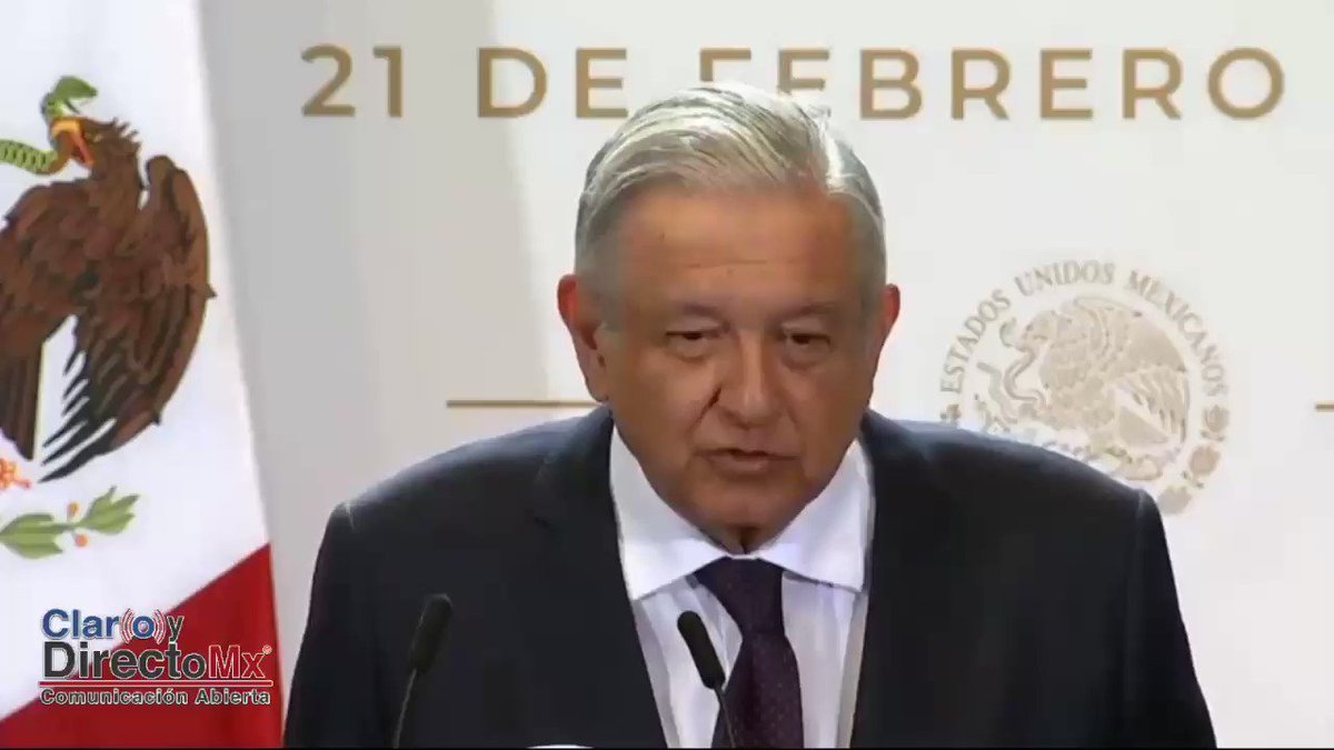 Image for the Tweet beginning: 🔴El Presidente @lopezobrador_  dijo