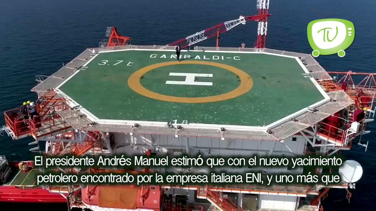 """""""Aumentará la producción petrolera"""": @lopezobrador_"""