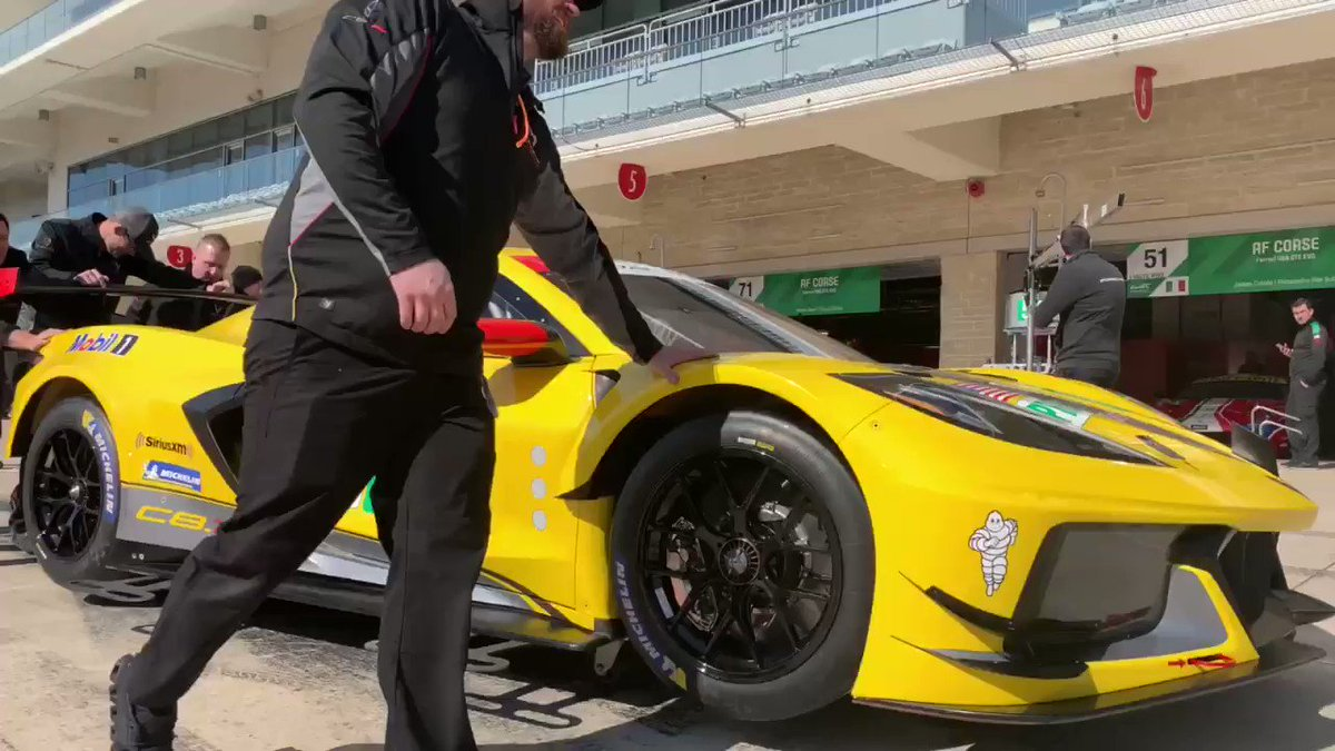 That moment when you see her for the first time...🥰🥰🥰 #WEC #6HCota @TeamChevy