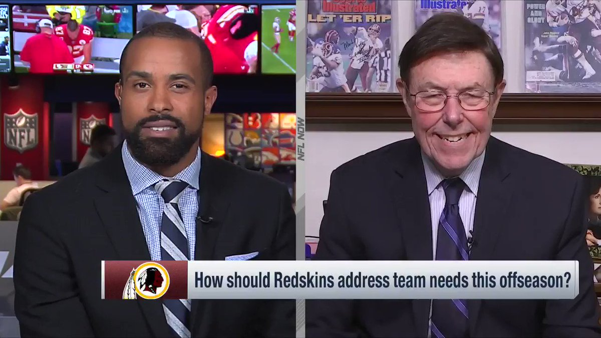 What the @Redskins should do with their first two draft picks @nflnetwork @NFLDraft