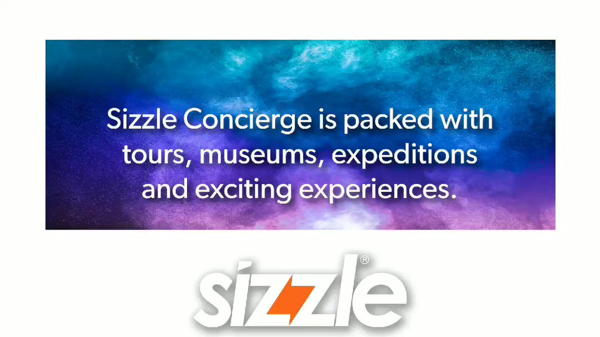 Want to connect with your audience with no upfront costs?  We can help!  #AR #sizzle #sizzlesells #travel #concierge #FridayFunDay
