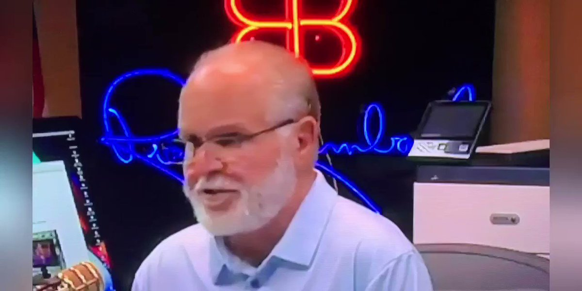 Remember when I said Rush Limbaugh has done the most damage to our country? I stand by it, and this is why. Day in, and day out, he has been brainwashing people with the most outrageous, horrific, lies and he goes unchecked.
