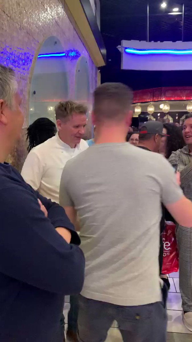Fake Gordon Ramsay out here enjoying the attention 🤣🤣🤣