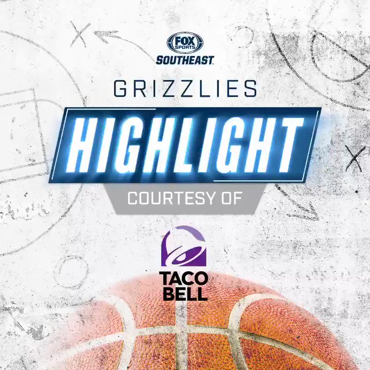 Ahhhhh... @JaMorant drives to the basket, scores and draws a foul. What a #classic‼️   @tacobell // #GrindCity