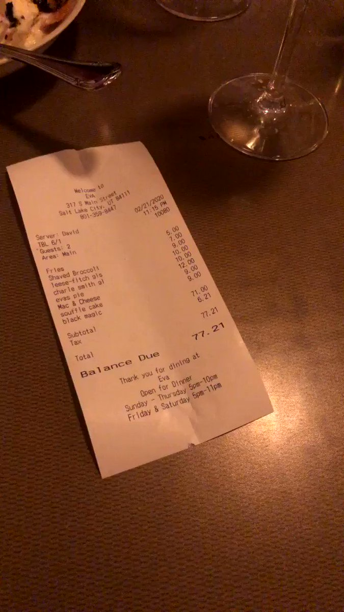 helping my bf with the bill