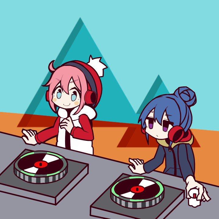 『ゆるキャン』×『リズム天国』「DJスクール」(再掲)