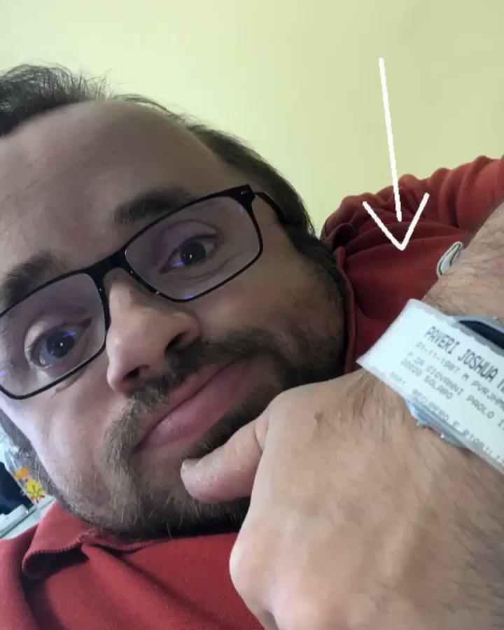 #pitstop #annualcheckup #hospitalization #relax #costamasnaga #villaberetta #somedaysforme #picoftheday #instapic #instahospital #selfie