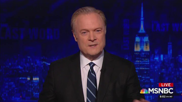 """MSNBC's @Lawrence O'Donnell: """"The president is a Russian operative. That sounds like the description of a bad Hollywood screenplay, but it is real, and it is Vladimir Putin's greatest achievement.""""   Says @RichardGrenell nomination came at Putin's direction."""