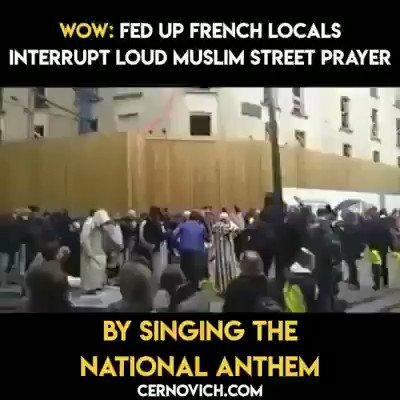 People of France, you woke up very late. You are doomed. These jihadi immigrants will slowly capture the whole of France and you will still be singing secular mantra. You home the jihadi elements and this is what you get in return.