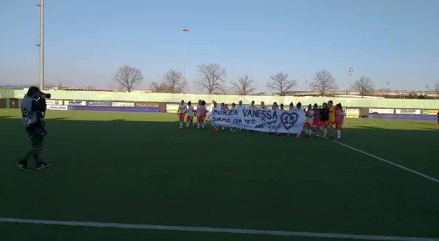 """Forza Vanessa!""  A special message for #Panzeri after a great win ❤️👏  #VeronaJuve #ForzaJuve"