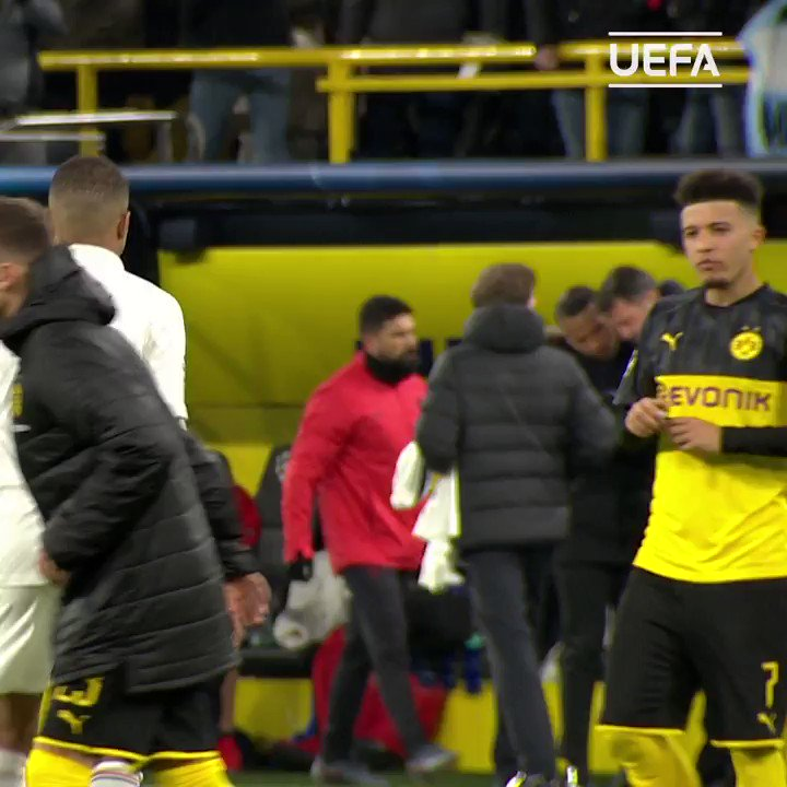 🇫🇷Kylian Mbappe x 🏴󠁧󠁢󠁥󠁮󠁧󠁿Jadon Sancho. The future of football. Nothing but respect. 🤝