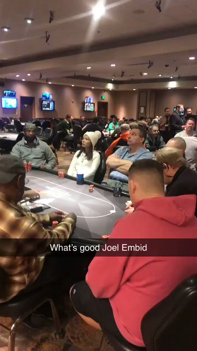Embiid would fold to every 3bet
