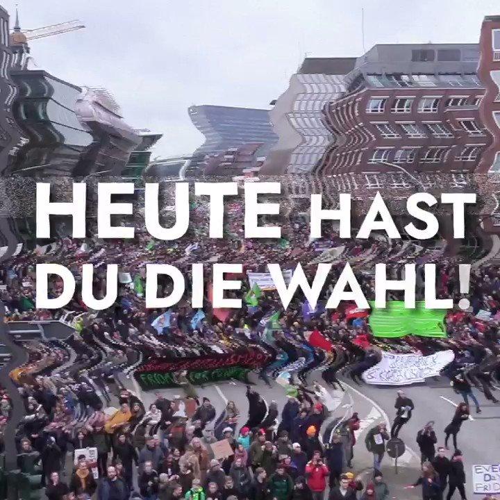 Geht heute wählen❗️ #HamburgWähltKlima #HamburgWahl