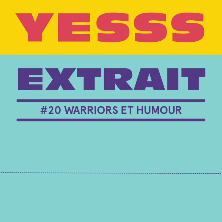 Image for the Tweet beginning: Dans l'épisode Warriors et Humour,