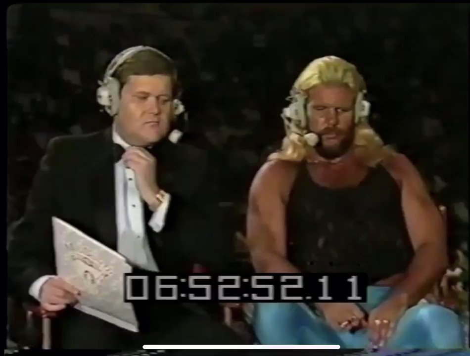 #UWF Raw Footage With Jim Ross & Michael P.S. Hayes