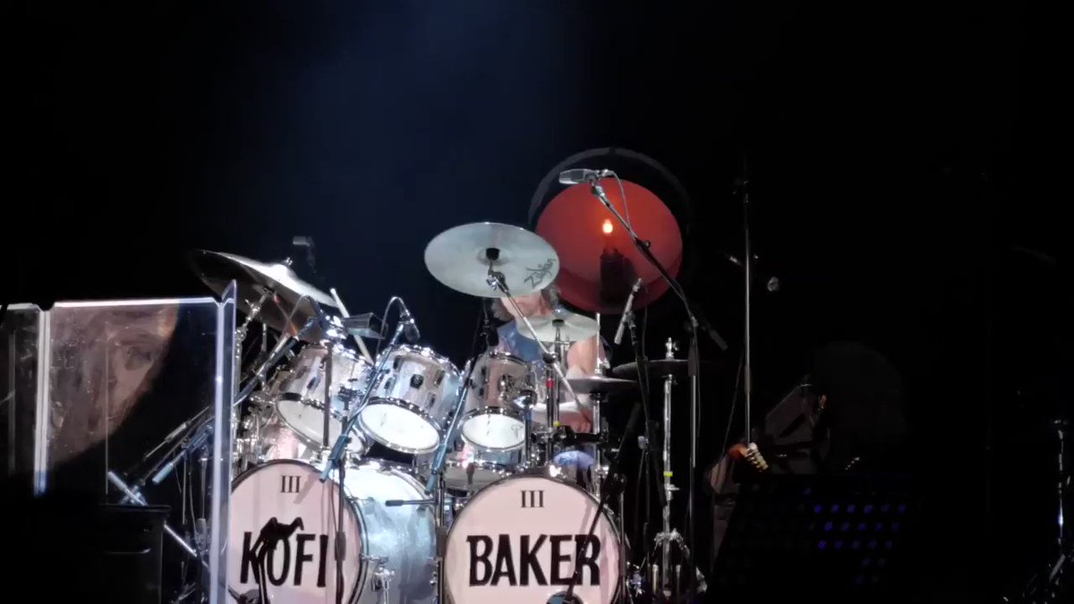 #KofiBaker doing his Dad proud with 'Do What You Like'! 🥁😍Watch his full drum solo from the tribute show here: http://youtube.com/watch?v=vuDf28uhNPU …#GingerBaker