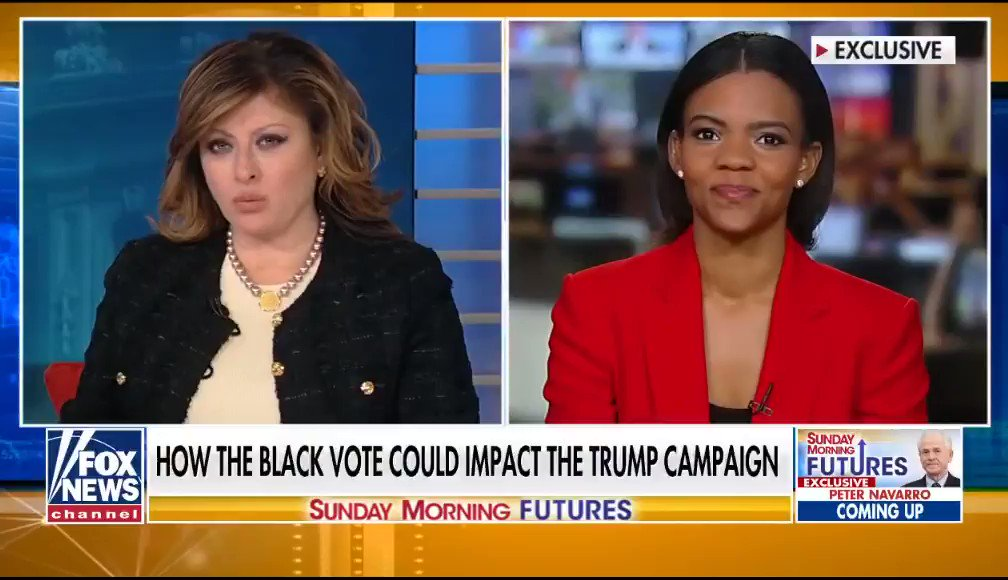 America as a whole is doing better under @realDonaldTrump as @POTUS   All Blacks @RealCandaceO asks agree they are doing BETTER w Pres Donald J. Trump  It's no brainer will be ReElected BIGLY in LANDSLIDE 2020