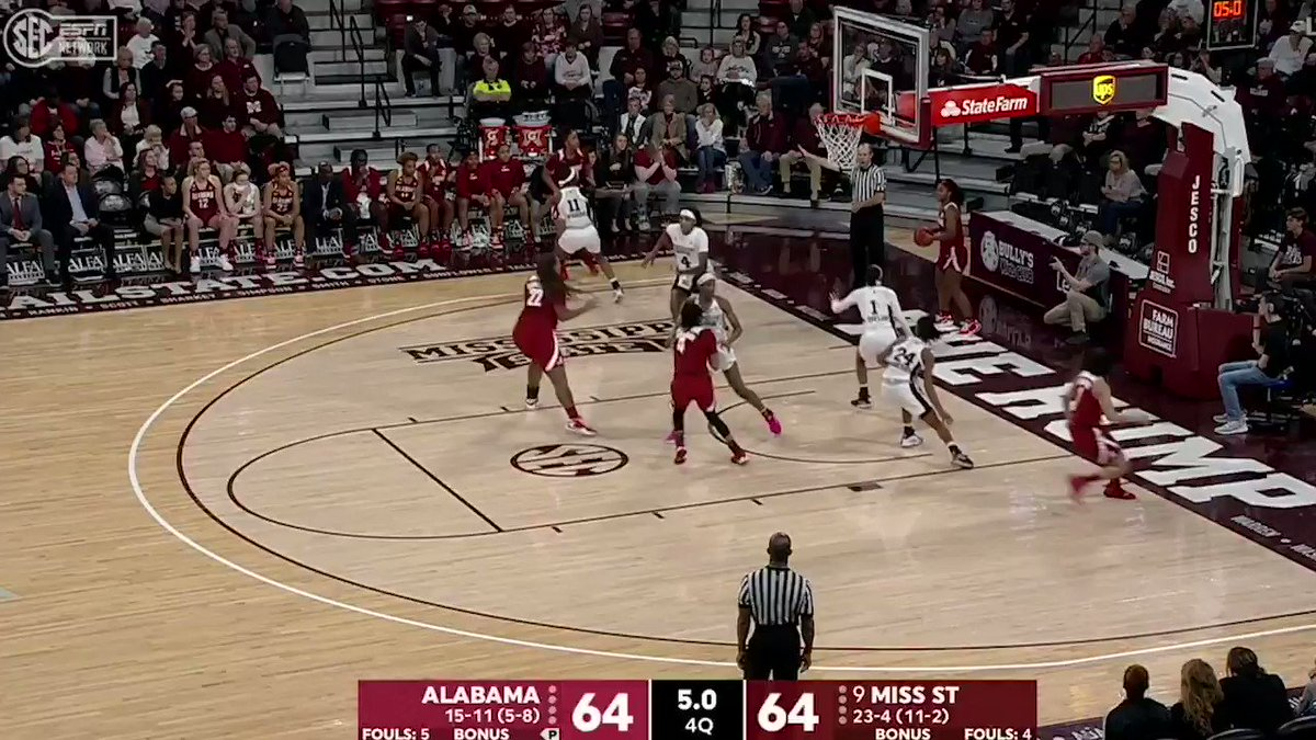AT THE BUZZER!!! ALABAMA UPSETS NO. 9 MISSISSIPPI STATE 🚨