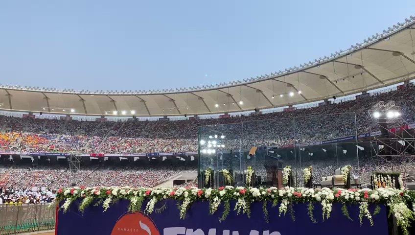 @PMOIndia's photo on Motera Stadium