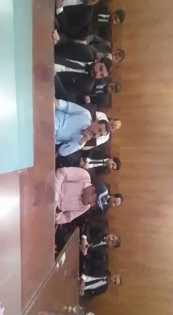 Taruf Abbas, Central General Secratary of #Karakoram National Movement (KNM) briefed the #GBians about the political & legal situation of #GilgitBaltistan. #GBians r not getting their proper rights.