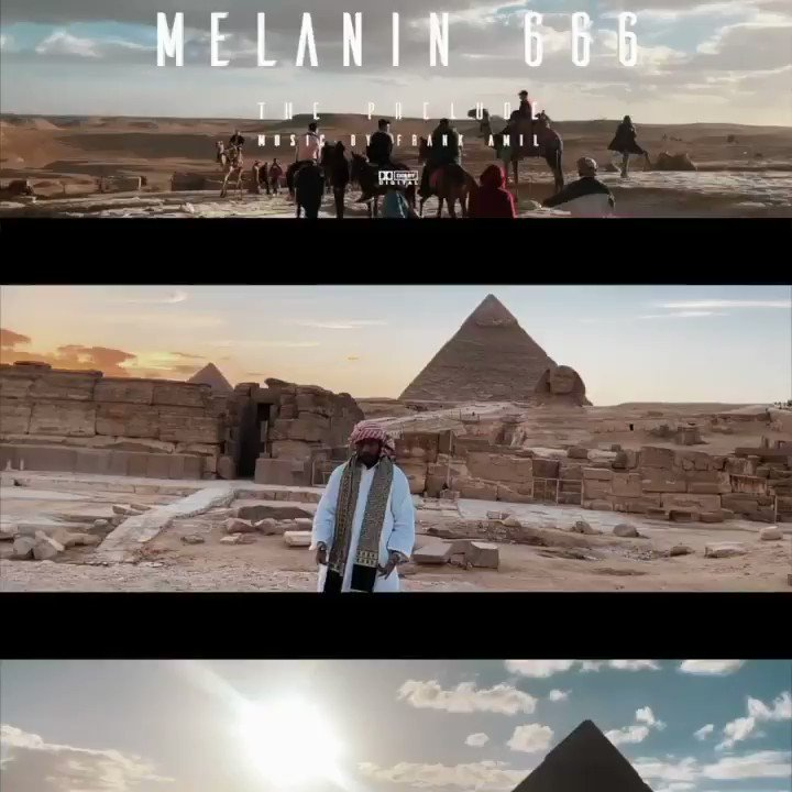 NEW #AMIL music video: #FrankAMIL -  #Melanin666 #ThePrelude https://bit.ly/30Pvyhd  • • • #Melanin666 #M6 #Africa #Egypt #Cairo #Giza #HipHop #TikaDeGallo #A2onTheBeat #Youtube #RadioPushers #DreamHustleWin #AdvanceTheCulture #AMILkhemy @TEAMNOSPLEEPMUS
