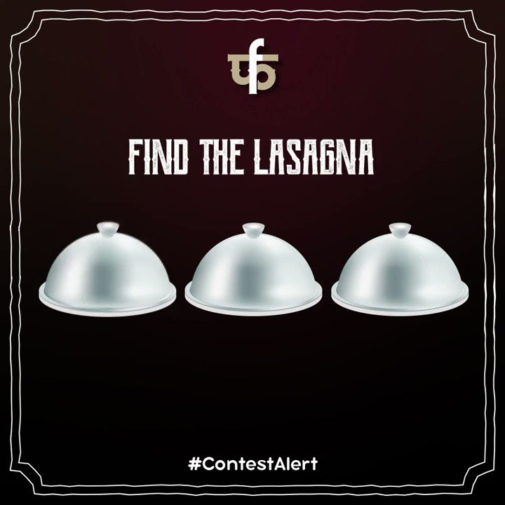 #ContestAlert Find the Lasagna and stand a chance to win an exciting gift!! . . . #contestalert #pasta #pastamania #pastatime #food #foodgasm #foodlover #foodporn #instafood #instalike #instagood