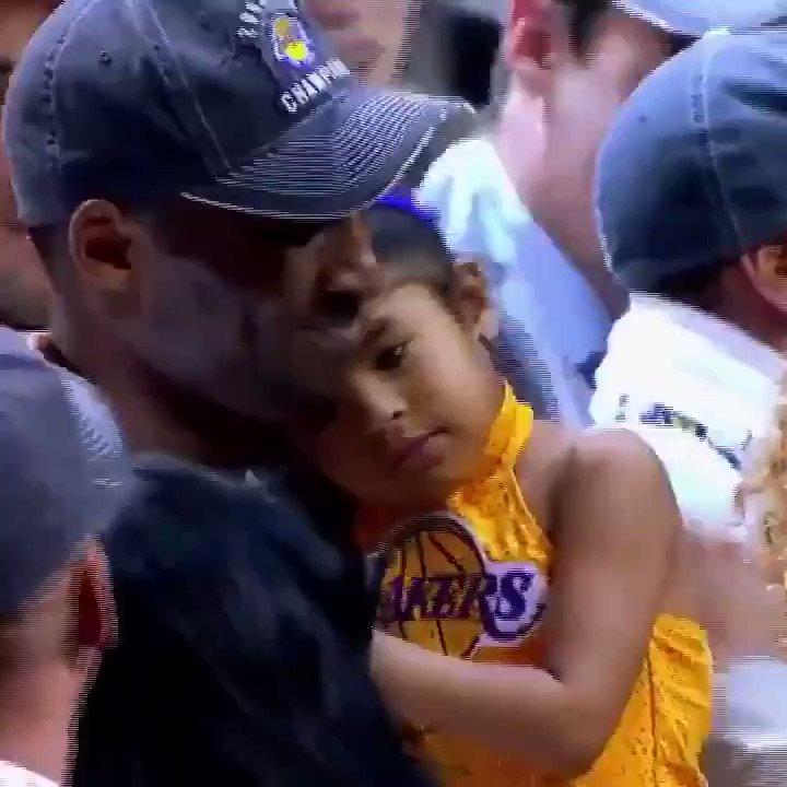 Forever Kobe and Gianna Bryant 💜💛