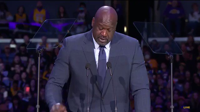 "Shaq says the day Kobe gained his respect is when he told Kobe 'there's no I in team'....  Kobe responded: ""I know but there's a 'M-E' in that motha fucka"""