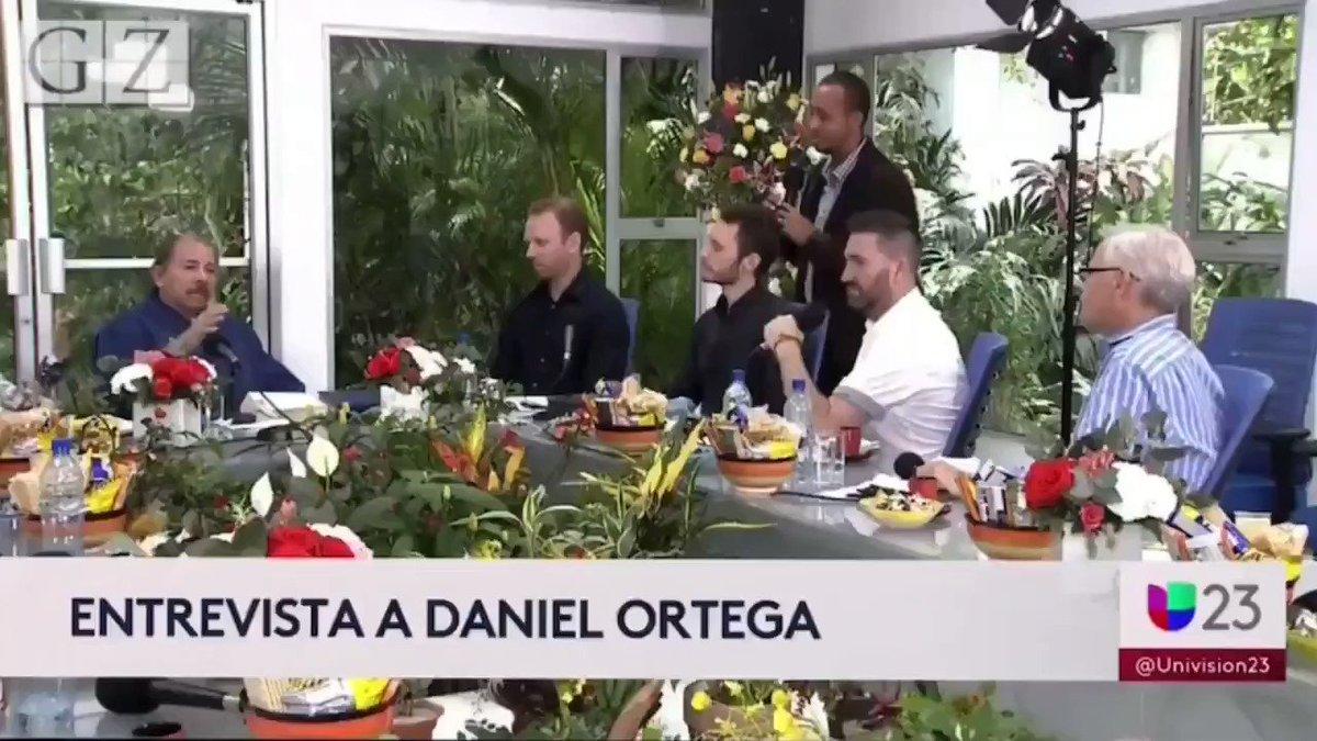 "Communist Nicaraguan dictator Daniel Ortega who oppresses & kills his own people, ENDORSES Bernie.   Bernie loves communist regimes & has said that ""Ortega is an impressive guy""  Bernie sees nothing wrong w killing millions of people & having the govt control/suppress everything"