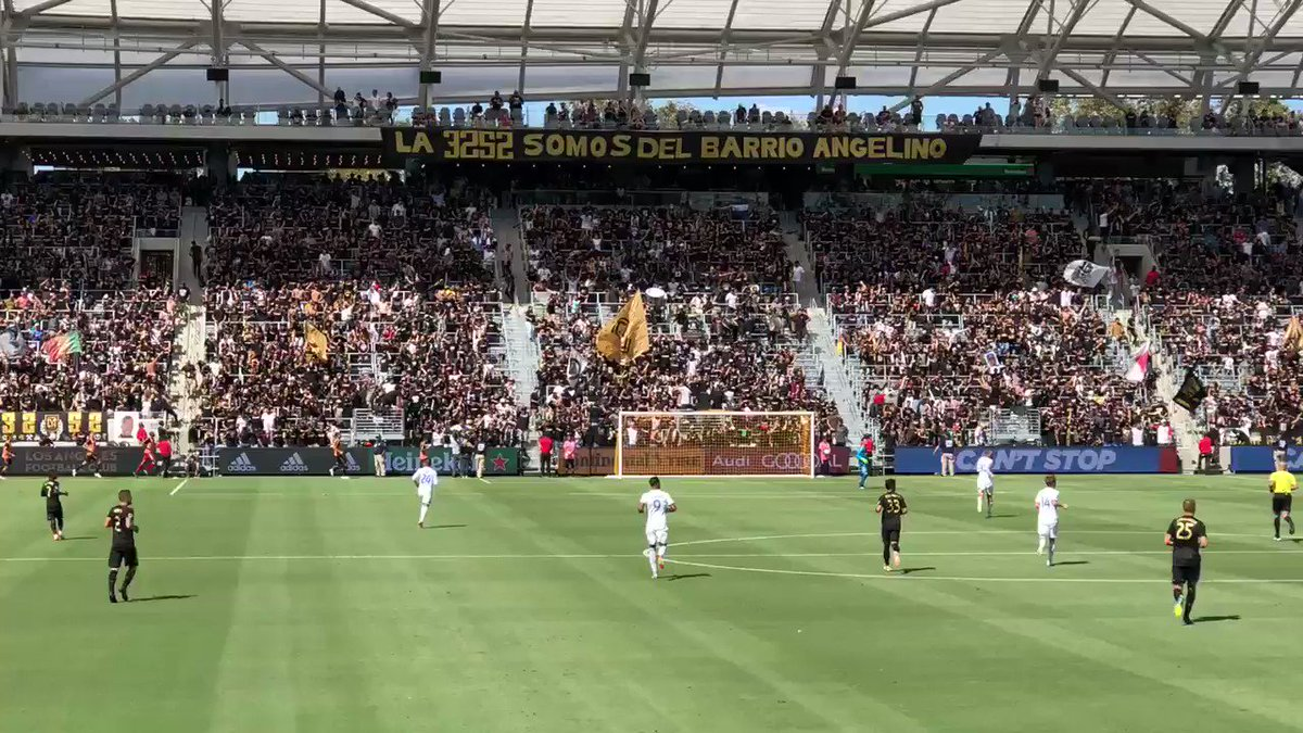 @LAFC @LAFC3252 Watching the 3252 for once, instead of being in it, was a joy to behold! #BarrioAngelino