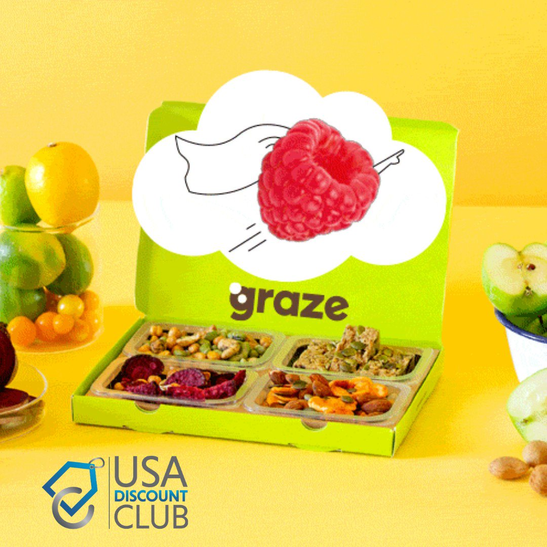 http://Graze.com has a range of tasty munchies. Receive your first box at half price.  💰💸  Sign up and start saving ➡️http://bit.ly/usadiscount #coupons#couponing#couponcommunity#couponingcommunity#savingmoney#tiktok#extremecouponing#frugal#coupon#shopping#sale