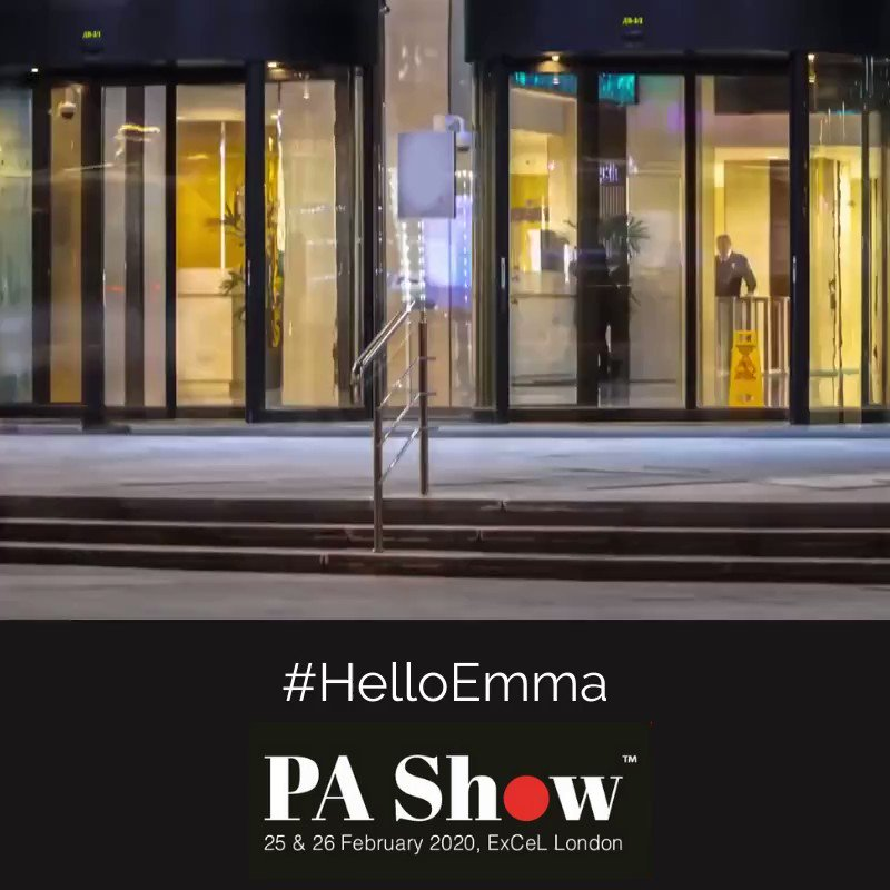 We are attending #PAShow2020, showcasing a range of innovative workplace & office product solutions. 📢Pop by & meet the viral sensation Emma – the Work Colleague of The Future. #HelloEmma 🗓 25-26 Feb 🔸Stand: F08P . #YourHealthOurPriority #WorkBetterFeelBetter @LyrecoUK_IE