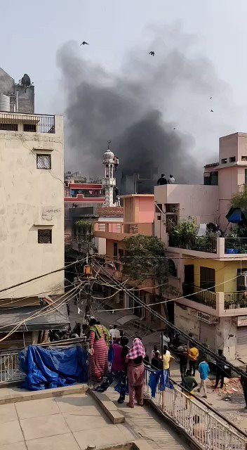 Stop what you're doing, watch this video & read about what's happening in India.  As Trump and Modi parade across the country, mobs are openly attacking Muslims, looting their businesses & desecrating houses of worship just like you see in this video.