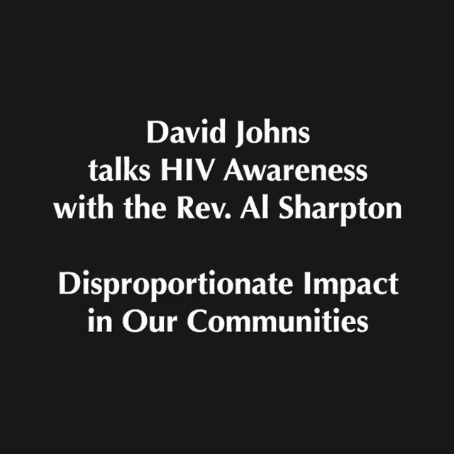 Did you know that since the introduction of the #HIV epidemic Black people have been disproportionately impacted (because racism)? Hear me talk about why and the consequence of this tragic reality with @real_sharpton. #LetsGetFree #KnowYourStatus #NBJCAdvocacy #Black #Facts