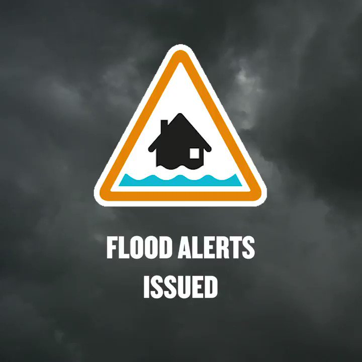 Image for the Tweet beginning: There are #flood alerts and